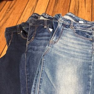 American Eagle Outfitters Jeans - American Eagle skinny jeans-3 pair for 60
